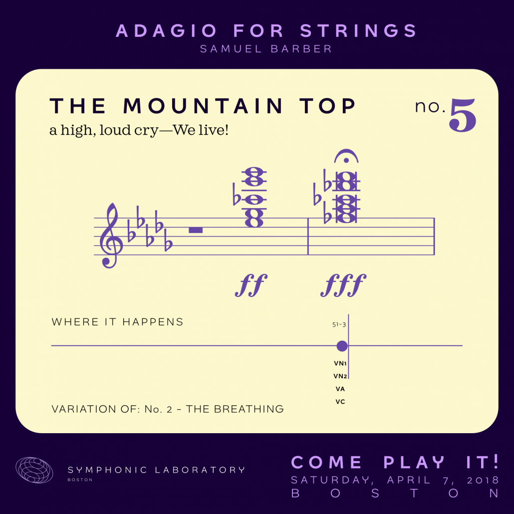 No. 5 - The Mountain Top